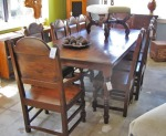PC549 table $515 PC546 chairs $150