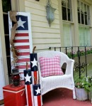 Festive Seating Corner via Hoosierhomemade