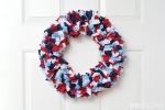 Patriotic Wreath via Sheknows