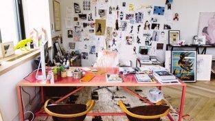 Jenna Lyon's office at J. Crew (Image via Fast Company)