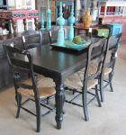 Various Accessories (AB135) $44, (AB009) $34, (AB102) $38, Table (TO10MA) $344, Chairs (YD1672A)