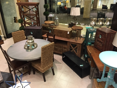 Nadeau - Furniture with a Soul extends its stay at Tysons Corner until the end of August.