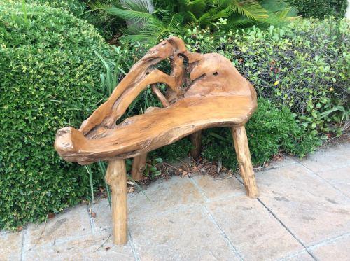 charleston teak bench